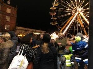 Eleverne i faget Gør en forskel har arrangeret en Wheels Night med Food Truck