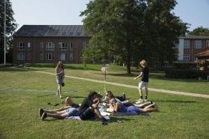 Parken på Grundtvigs Højskole
