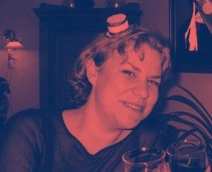 Grundtvigs engagerede medarbejdere tæller bl.a. vores dygtige kommunikationsmedarbejdere. Her Anja Fjord Skovgaard