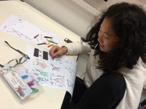 På Grundtvigs Højskole kan du have fag som Grafisk Design, Tekstil og Design, Kreativ kommunikation og Photoshop