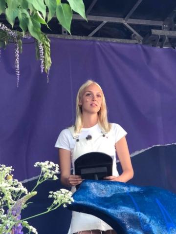 Grundtvigs Højskoles elever i Retorik og Politik deltager i festivalen Røst med taler