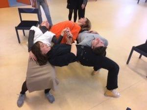På Grundtvigs Højskole kan du vælge fag som Teatersport
