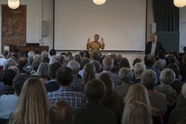 Margrethe Vestager holder foredrag på Grundtvigs Højskole