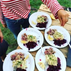 Faget Byg og Æd på Grundtvigs Højskole dyrker naturen, klima, mad, håndværk og giver dig mulighed for at bruge dine hænder