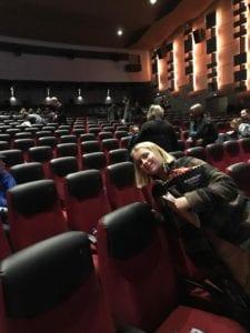 """Grundtvigs Højskoles elever i fagene Filmfabrikken og Moderne Film var inviteret til gallapremiere i Imperial på filmen """"Unge Astrid"""""""