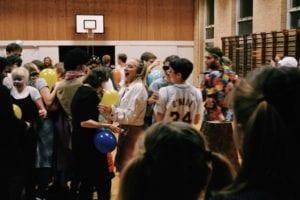 Fejring af fastelavn på Grundtvigs Højskole
