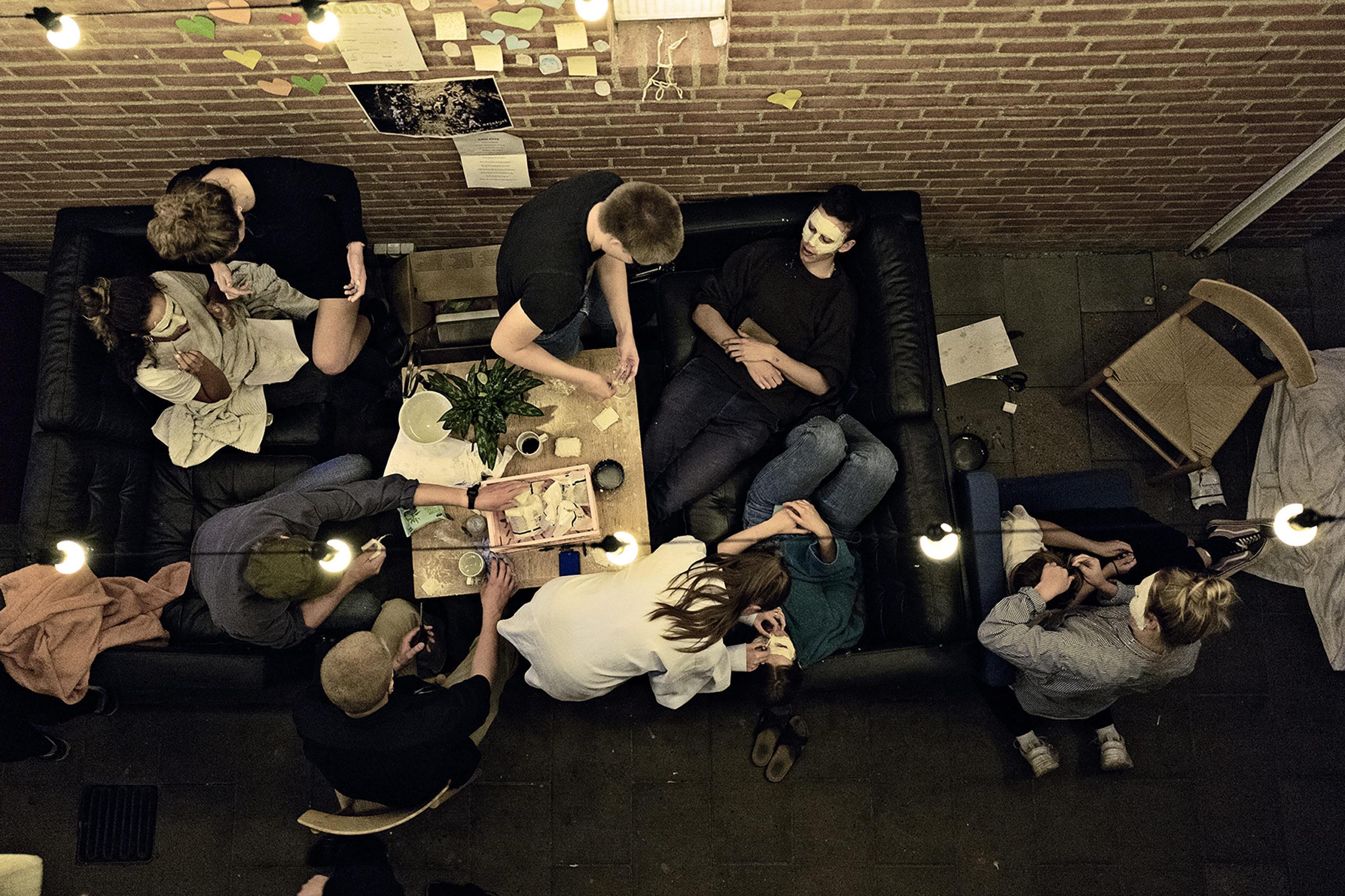 Maskebal højskole København